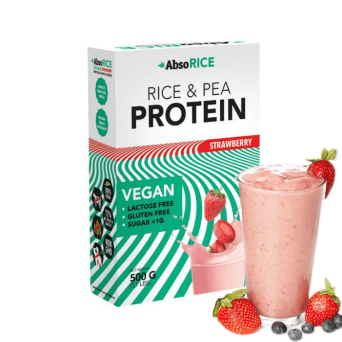 AbsoRICE-Strawberry-protein