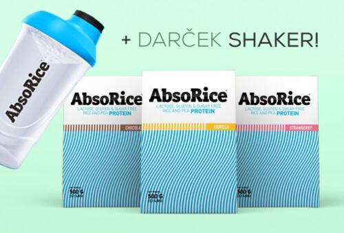 AbsoRice Mix 3x500g + darček AbsoRice Shaker