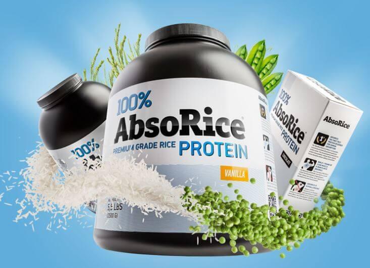 AbsoRice rastlinná bielkovina