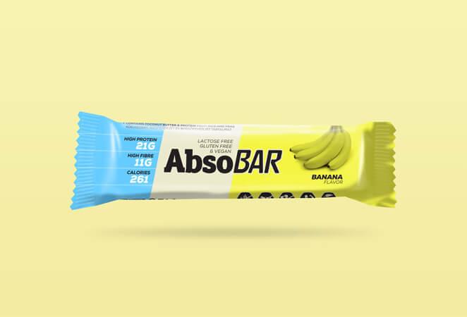 AbsoBar Banán 74g
