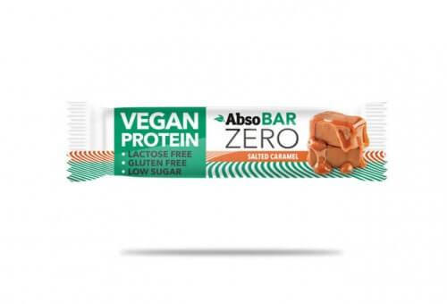 AbsoBar Zero salted caramel 40g