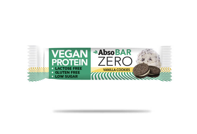 AbsoBar ZERO vanilka-cookies 40g